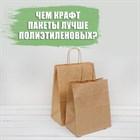 Чем крафт пакеты лучше полиэтиленовых?