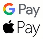 Подключили Apple Pay и Google Pay!