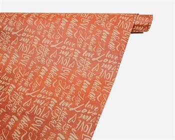 Бумага упаковочная, 50х70 см,  Слова , 1 лист - фото 10002