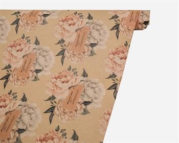 Бумага упаковочная, 50х70 см, «Упаковано с любовью», 1 лист - фото 10009