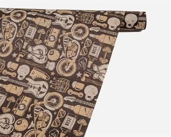 Бумага упаковочная, 70х100 см, «Настоящему мужчине», 1 лист - фото 10015