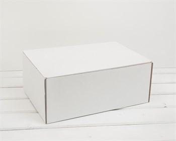Коробка для посылок, 31х21х12,5 см из плотного картона, белая - фото 10093