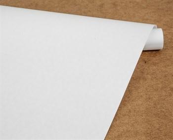 Бумага упаковочная, 50 гр/м2, 72см х 10м, белая, 1 рулон - фото 10157