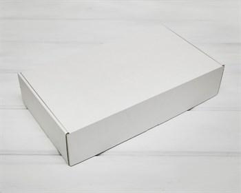 Коробка для посылок 39х22х8,5 см, белая - фото 10221