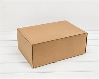 Коробка для посылок, 31х21х12,5 см, крафт - фото 10304