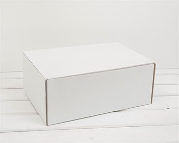 УЦЕНКА Коробка для посылок, 31х21х12,5 см, белая - фото 10332