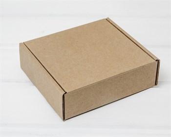 УЦЕНКА Коробка для посылок 12,5х12х4 см, крафт - фото 10403
