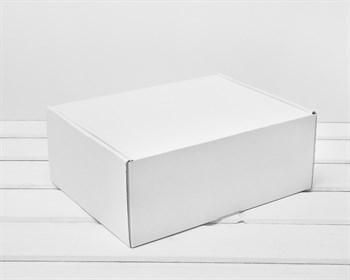 Коробка для посылок, 25х20х10 см, из плотного картона, белая - фото 10470