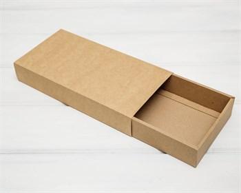 Коробка-пенал, 31х15х5 см, крафт - фото 10480