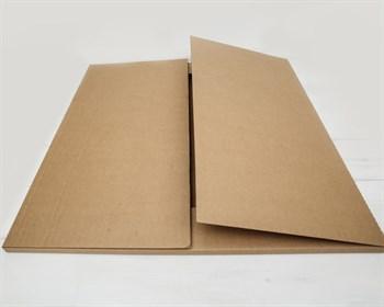 УЦЕНКА Коробка для картины, 70х70х2 см, крафт - фото 10543