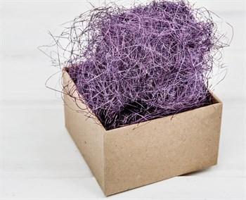 Сизаль декоративный, цвет фиолетовый, 50 грамм - фото 10567