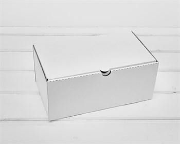Коробка 23х13,5х10 см из плотного картона, белая - фото 10638