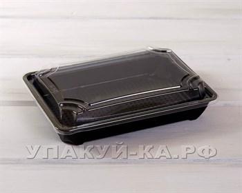 Контейнер пластиковый для эклеров, пирожных, конфет 19,5х13,3х4,2 см - фото 4934