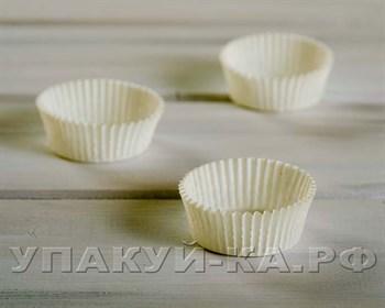 Форма бумажная для капкейков/маффинов/кексов, круглая, d55, h25, 25 шт/упак - фото 5022