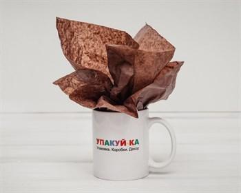 Бумага тишью, шоколад, 50х66 см - фото 5386
