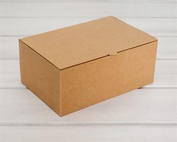 Коробка для посылок, 24х16х10 см, из плотного картона, крафт - фото 5388