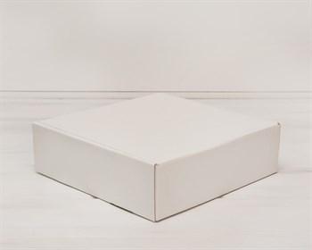Коробка для посылок 28х28х8,5 см, белая - фото 5449