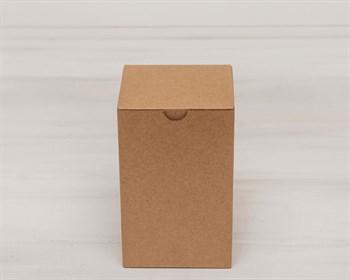 Коробка для посылок, 10х10х16 см, из плотного картона, крафт - фото 5477
