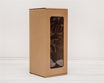 Коробка для кукол, с окошком, 30х13х13 см, крафт - фото 5513