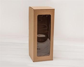 Коробка для кукол, с окошком, 35х14х14, крафт - фото 5536
