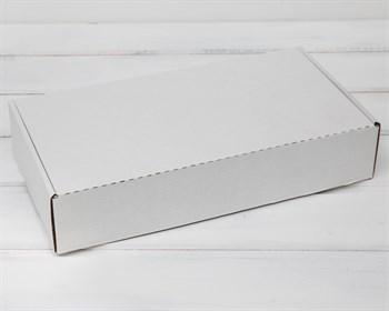 Коробка 29,5х15х6 см из плотного картона, белая - фото 5559