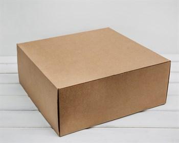Коробка для посылок 36х35х15 см, крафт - фото 5632