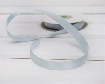 Лента атласная, 12 мм, нежно-лазурная, 1 м - фото 5752