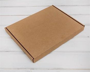 Коробка плоская 23,5х30,5х2,5 см, крафт - фото 5764