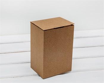 Коробка для посылок, 10х8х15 см, из плотного картона, крафт - фото 5866
