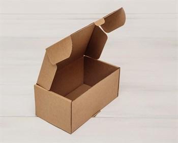 Коробка для посылок, 17х10х8 см, из плотного картона, крафт - фото 6014