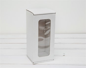 Коробка для кукол, с  окошком, 20х9х9 см, белая - фото 6088