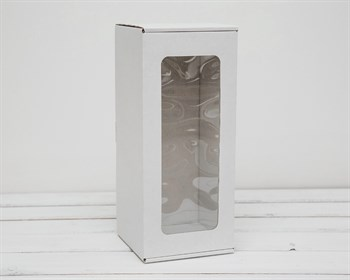 Коробка для кукол, с окошком, 30х13х13 см, белая - фото 6099