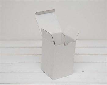 Коробка для посылок, 10х10х16 см, из плотного картона, белая - фото 6239