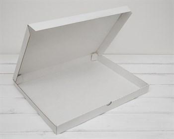 Коробка плоская 41х31х3,5 см, белая - фото 6254