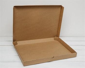 Коробка плоская 41х31х3,5 см, крафт - фото 6259