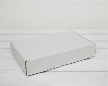 Коробка для посылок 27х17х5 см, белая - фото 6308