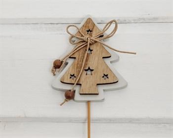 Топпер  Деревянная елка - фото 6546