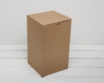 Коробка для посылок, 15х15х26 см, из плотного картона, крафт - фото 6630
