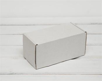 Коробка для посылок 16х8х8 см, белая - фото 6632