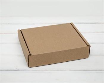 Коробка почтовая, тип Е, 22х18,5х5 см, крафт - фото 6639