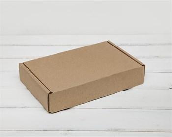 Коробка почтовая, тип Е-1, 26,5х16,5х5 см, крафт - фото 6641