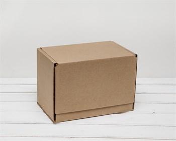 Коробка почтовая, тип Г, 26,5х16,5х19 см, крафт - фото 6645