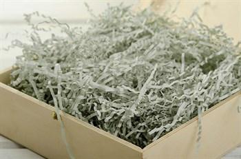 Наполнитель бумажный №006  Серебристо-серый, 100 грамм - фото 6890