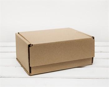 Коробка почтовая, тип Д, 21,5х16,5х10 см, крафт - фото 6919