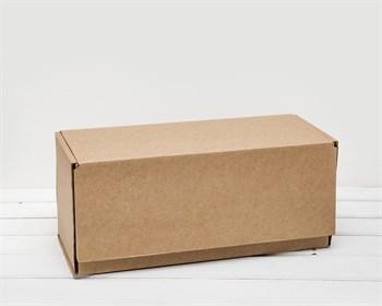 Коробка почтовая, тип В, 42,5х16,5х19 см, крафт - фото 6921