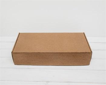 Коробка для посылок, 43х20х9 см из плотного картона, крафт - фото 7115