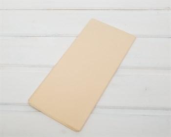 Бумага тишью, кремовая, 50х66 см 10 шт. - фото 7142