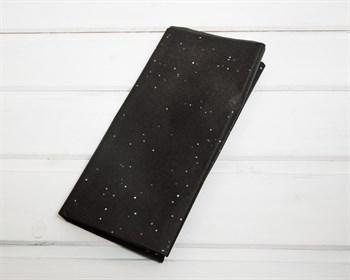 Бумага тишью, черная с цветным глиттером, 50х66 см 10 шт. - фото 7150