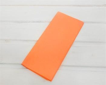 Бумага тишью, оранжевая, 50х66 см 10 шт. - фото 7175