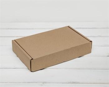 УЦЕНКА Коробка почтовая, тип Е-1, 26,5х16,5х5 см, крафт - фото 7185